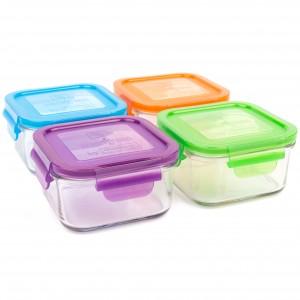 lunch cubes 480ml (4 pack) - garden