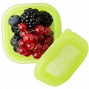 Silicone food containers 100ml (2 pack) - Grün