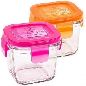 wean cubes 120ml (2 pack) - raspberry + carrot