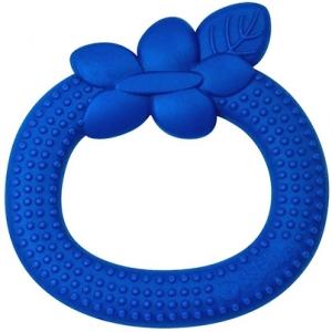 Fruit jouet-dentition en silicone - Bleu Myrtille