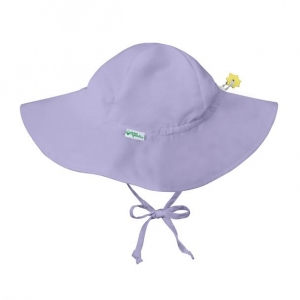 brim sun hat - violet